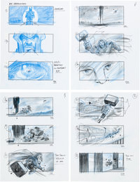 Thor: The Dark World Storyboards Original Art Lot of 119 (Marvel Studios, 2013)