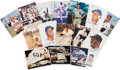 Baseball Collectibles:Photos, 1990's Hall of Famer Signed Photographs & Ephemera Lot of15....