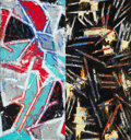 Post-War & Contemporary:Abstract Expressionism, Charles Arthur Arnoldi (b. 1946). Untitled, 1989. Mixedmedia on paper. 44-1/2 x 42 inches (113 x 106.7 cm) (sight). Sig...