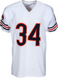 Autographs:Jerseys, 1990's Walter Payton Signed Chicago Bears Jersey with Six Inscriptions. ...