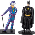 Memorabilia:Comic-Related, Batman and Joker Limited Edition Statue Set by Kent Melton #28/50 (Warner Brothers, 1989).... (Total: 2 Items)