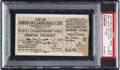 Baseball Collectibles:Tickets, 1919 World Series Game Five Press Ticket from The Joe Carr Find....
