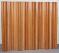 Furniture : American, Charles Eames (American, 1907-1978) and Ray Kaiser Eames (American,1912-1988). FSW-8 Folding Screen, designed 1946. Mol...