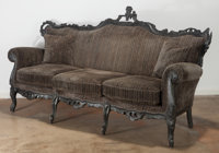 Maarten Baas (Dutch, b. 1978) Unique LL/03 Sofa from the Smoke series, 2006, Baas & den Herd