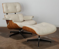 Charles Eames (American, 1907-1978) and Ray Kaiser Eames (American, 1912-1988) 670 Armchair and 671