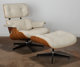 Charles Eames (American, 1907-1978) and Ray Kaiser Eames (American, 1912-1988) 670 Armchair and 671 Ottoman, design... (...