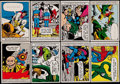 "Non-Sport Cards:Sets, 1966 Donruss ""Marvel Super Heroes"" Near Set (62/66). ..."