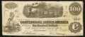 Confederate Notes:1862 Issues, T40 $100 1862 PF1 Cr. 298.. ...