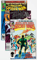 Modern Age (1980-Present):Superhero, Marvel Modern Age Superhero Short Box Group (Marvel, 1980s-90s)Condition: Average NM-....
