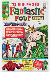 Fantastic Four Annual #1 (Marvel, 1963) Condition: VG/FN