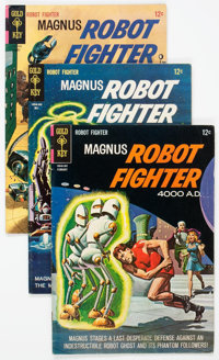 Magnus Robot Fighter Group of 24 (Gold Key, 1965-77) Condition: Average FN.... (Total: 24 Comic Books)