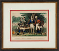 Antiques:Decorative Americana, Revolutionary War: Currier & Ives Lithograph....