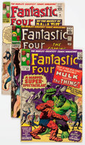 Silver Age (1956-1969):Superhero, Fantastic Four Group of 25 (Marvel, 1962-69) Condition: Average GD.... (Total: 25 Comic Books)