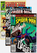 Modern Age (1980-Present):Superhero, Spectacular Spider-Man Box Lot (Marvel, 1979-93) Condition: AverageVF....