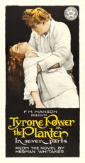 "Movie Posters:Drama, The Planter (Mutual, 1917). Three Sheet (41"" X 79"").. ..."