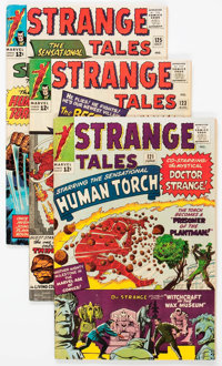 Strange Tales Group of 25 (Marvel, 1964-73) Condition: Average FN.... (Total: 25 Comic Books)