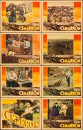 "Movie Posters:Western, Cimarron (RKO, 1931). Lobby Card Set of 8 (11"" X 14"").. ... (Total:8 Items)"