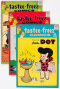 Silver Age (1956-1969):Humor, Tastee-Freez Comics File Copies Box Lot (Harvey, 1957) Condition: Average VF/NM....