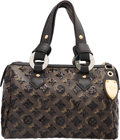 Luxury Accessories:Bags, Louis Vuitton Limited Edition Sequin & Classic Monogram Canvas Eclipse Speedy 30 Bag. Excellent to Pristine Condition. ...