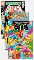 Modern Age (1980-Present):Superhero, Detective Comics Group of 46 (DC, 1980-87) Condition: AverageVF.... (Total: 46 Comic Books)
