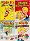 Bronze Age (1970-1979):Humor, Richie Rich and Casper Digest Comics File Copies Box Lot (Harvey, 1970s) Condition: Average NM-....