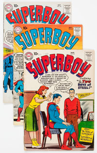 Superboy Group of 17 (DC, 1958-69) Condition: Average GD.... (Total: 17 Comic Books)