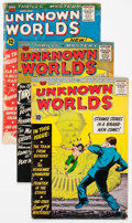 Silver Age (1956-1969):Horror, Unknown Worlds Group of 53 (ACG, 1960-67) Condition: Average GD....(Total: 53 Comic Books)