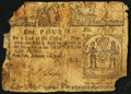 Colonial Notes:New York, New York February 16, 1771 £1 About Good.. ...