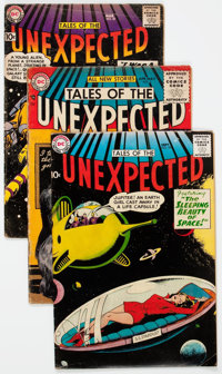 Tales of the Unexpected Group of 18 (DC, 1956-59) Condition: Average VG.... (Total: 18 Comic Books)