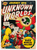Golden Age (1938-1955):Science Fiction, Journey Into Unknown Worlds #37 (#2) (Atlas, 1950) Condition:GD-....