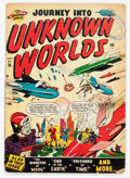 Golden Age (1938-1955):Science Fiction, Journey Into Unknown Worlds #36 (#1) (Atlas, 1950) Condition:GD....
