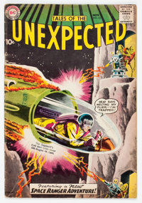Tales of the Unexpected #43 (DC, 1959) Condition: GD/VG