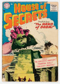Silver Age (1956-1969):Horror, House of Secrets #1 (DC, 1956) Condition: GD....