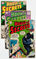 Silver Age (1956-1969):Horror, House of Secrets Group of 18 (DC, 1957-62) Condition: AverageGD.... (Total: 18 Comic Books)