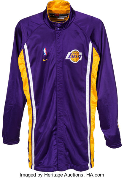 fbe1f1253b5a 2010 s Kobe Bryant Game Worn Los Angeles Lakers Warm-up
