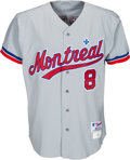 Baseball Collectibles:Uniforms, 1992 Gary Carter Game Worn Montreal Expos Jersey & Pants from The Gary Carter Collection.. ...