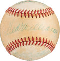 Baseball Collectibles:Balls, 1984-86 500 Home Run Club Multi-Signed Baseball from The Gary Carter Collection. . ...