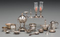 Silver Smalls:Other , Eighteen Silver Miniature Dollhouse Tablewares, circa 1920-1939.Marks: (various, most with marks for William B. Meyers Co.)...(Total: 18 Items)