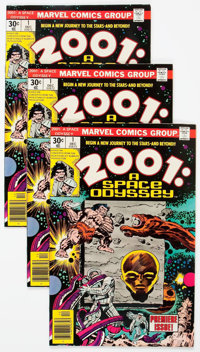 2001: A Space Odyssey #1 Group of 30 (Marvel, 1976) Condition: Average NM-.... (Total: 30 Comic Books)