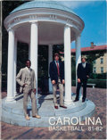 Basketball Collectibles:Publications, 1981-82 University of North Carolina Tarheels Team Signed Yearbook - With Vintage Jordan Signature.. ...