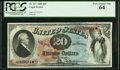 Large Size:Legal Tender Notes, Fr. 127 $20 1869 Legal Tender PCGS Very Choice New 64.. ...