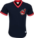 Baseball Collectibles:Uniforms, 1980's Ken Aspromonte Game Worn Cleveland Indians Batting Practice Jersey & Pants from The Ken Aspromonte Collection. . ...