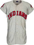 Baseball Collectibles:Uniforms, 1961 Ken Aspromonte Game Worn Cleveland Indians Jersey & Pants from The Ken Aspromonte Collection.. ...