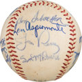 Autographs:Baseballs, 1962 Cleveland Indians Team Signed Baseball from The Ken AspromonteCollection....