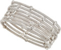 Estate Jewelry:Bracelets, Diamond, White Gold Bracelets. ... (Total: 7 Items)