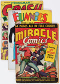Golden Age (1938-1955):Miscellaneous, Comic Books - Assorted Golden Age Comics Group of 11 (Various Publishers, 1940s-50s).... (Total: 11 Comic Books)