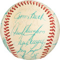 Baseball Collectibles:Others, 1975 National League All-Star Team Signed Baseball from The GaryCarter Collection.. ...