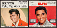 """Elvis Presley Record Picture Sleeve Lot (RCA Victor, 1963). 45 RPM Record Singles Sleeves (2) (7"""" X 7"""") DS. El..."""