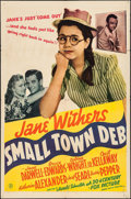 """Movie Posters:Comedy, Small Town Deb (20th Century Fox, 1942). One Sheet (27"""" X 41"""").Comedy.. ..."""