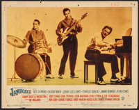 """Jamboree (Warner Brothers, 1957). Lobby Card (11"""" X 14""""). Rock and Roll"""